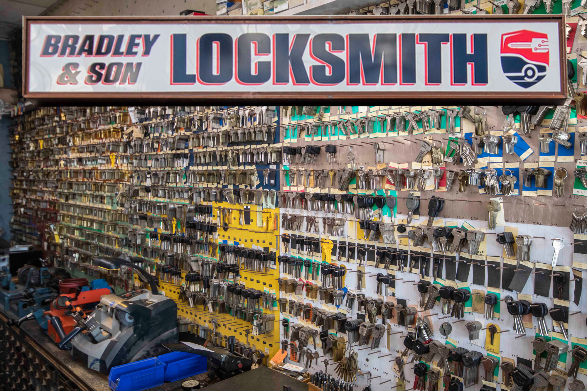WT Bradley & Son Locksmith